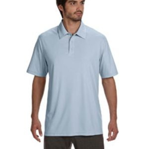Unisex Performance Three-Button Polo Thumbnail