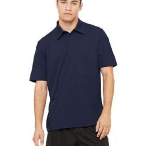Unisex Performance Three-Button Mesh Polo Thumbnail