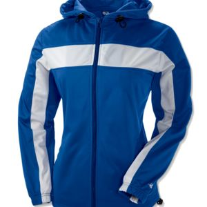 Ladies' Brushed Tricot Hooded Jacket Thumbnail
