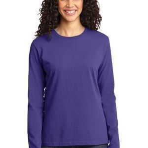 Ladies Long Sleeve Core Cotton Tee Thumbnail