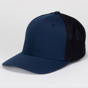Flexfit® Mesh Cotton Twill Trucker Cap Thumbnail