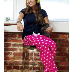 Ladies' VIP Flannel Pants Thumbnail