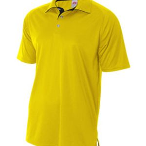 Adult Interlock Contrast Polo Thumbnail