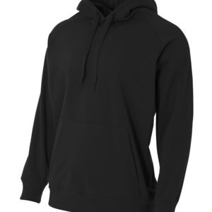 Youth Solid Tech Fleece Hoodie Thumbnail