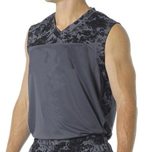 Youth Printed Camo Performance Muscle Tee Thumbnail