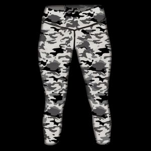 Ladies' Camo Tights Thumbnail