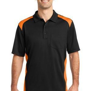 Select Snag Proof Two Way Colorblock Pocket Polo Thumbnail