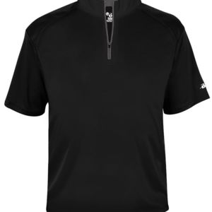 B-Core Short Sleeve 1/4 Zip Tee Thumbnail