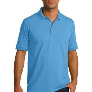 Tall 5.5 Ounce Jersey Knit Polo Thumbnail